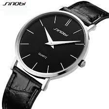 compare prices on slim thin watches men online shopping buy low mens business watches quartz casual wristwatch sinobi brand analog watch boy relogio masculino slim thin
