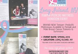 Event Flyer Best Spring 48 TempurPedicR Mattress Event NY United Breast