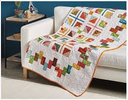 Learn to Make Scrappy Borders online class – Annie Smith & Danell made the Serpentine Border quilt: Adamdwight.com