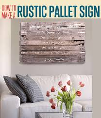 wall art sign diy projects craft ideas