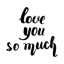 364 love you so much vector images