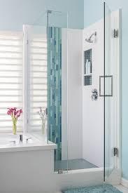 bathroom modern tile. Modern White And Blue Bathroom Tile