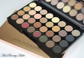 make up revolution ultra 32 shades eyeshadow palette flawless