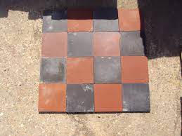 reclaimed floor and quarry tiles
