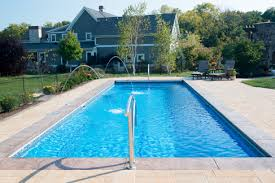 in ground pools rectangle. Brilliant Rectangle Custom Fiberglass Inground Rectangular Pool In Millcreek PA Installed And  Serviced By Waideu0027s Pools U0026 With In Ground Rectangle