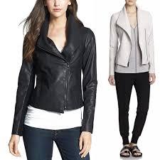 vince jacket vintage leather scuba