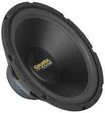 c coustic ohm dual voice coil subwoofer audio picture of coustic c1244 12 inch 150w rms dual 4 ohm subwoofer