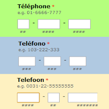european phone number format custom formats for the phone field in your form 123formbuilder blog