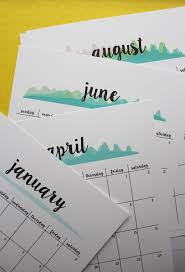 free printable 2017 calendar planner new version