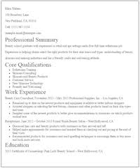 Summary For Resume Examples Beauteous EyeGrabbing No Experience Resumes Samples LiveCareer