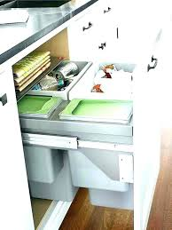 under counter trash can with lid under counter garbage can best the sink trash with d under counter trash can with lid