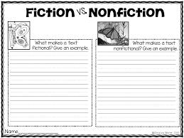 Fiction Vs Nonfiction Venn Diagram Venn Diagram Fiction Vs Nonfiction Luxury Fiction Vs Nonfiction
