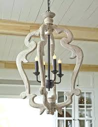 french wood chandelier distressed white wood chandelier spacious distressed white wood chandelier home and interior distressed