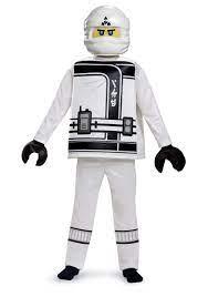 Ninjago Movie Zane Deluxe Boys Costume   Lego ninjago halloween costume,  Boy costumes, Halloween costumes for kids