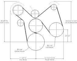 big block chevy serpentine conversion kit big block chevy serpentine belt conversion kit dimensions