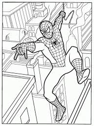 Spiderman is a popular character in comics, films and cartoons. Spiderman Printable Coloring Pages Free Printable Coloring Sheet Coloring Home