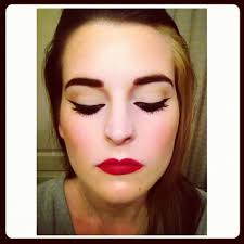 1950s inspired makeup how to look