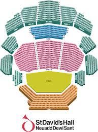 My Chart St Davids St Davids Hall Cardiff Seating Plan