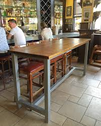 Bar Height Table With Metal Legs Kitchendining Room Ideas In 2019
