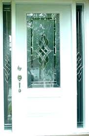 front door glass panels replacement doors commercial entry panel side with sidelights window coverings
