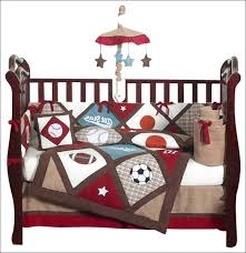 sports themed crib bedding cribs patchwork knitted cotton blend standard modern circus sets shark dust ruffle sports themed crib bedding