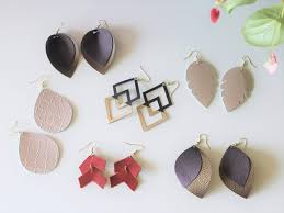 you can see that there are so many options and choices when it comes to making diy leather earrings but let s answer a few questions people tend to have