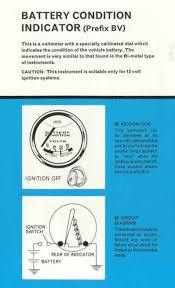 car voltmeter wiring diagram wiring library from smiths the care of instruments published 1966