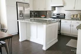 stacked cabinet kitchen makeover