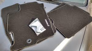 <b>Ворсовые коврики в салон</b> — оригинал MAZDA — Mazda 6, 2.3 л ...