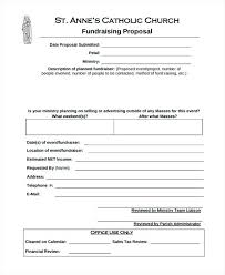Simple Funding Proposal Template Sample Fundraising C Constructor ...