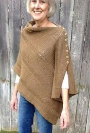 Knit Poncho Pattern Stunning 48 Best Knit Poncho Images On Pinterest Knitted Poncho Yarns And
