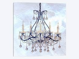 ica cool chandelier canvas art