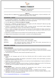 Awesome Collection of Network Engineer Fresher Resume Sample For Format  Sample
