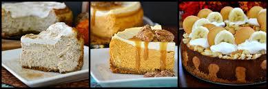 pumpkin pie cheesecake 3 banana cheesecake