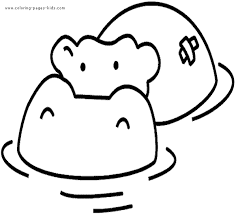 Free Printable Hippo Coloring Pages Get Coloring Pages