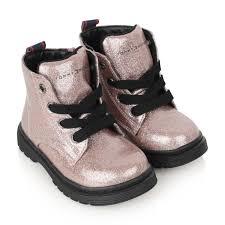 Childrens Designer Boots Sale Tommy Hilfiger Girls Pink Glitter Boots Girls Designer
