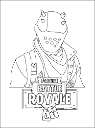 Coloring Pages Fortnite Drift