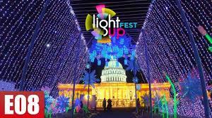 Light Up Loudoun Reviews Lightup Fest In One Loudoun 2018 Things To Do In Ashburn Virginia Ep 8