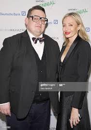 Artist Alex Jovanovich and Lubov Azria attend the 2014 Whitney ...