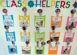 Helper Charts For Preschool With Pictures