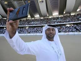 Approaches Girl Enters National He The As Pope Latest Uae Post Stadium