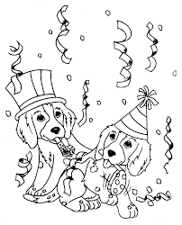 Small Picture Dog And Cat Coloring Pages Printable Coloring Page For Kids Kids