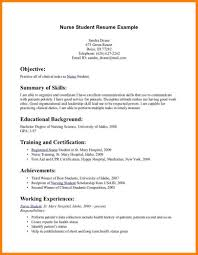 7+ Example Resume Student | Martini Pink