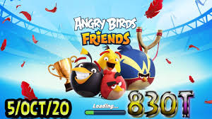 Angry Birds Friends All Levels Tournament 830 Highscore POWER-UP  walkthrough - YouTube