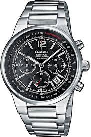 <b>Мужские</b> кварцевые наручные <b>часы</b> с хронографом <b>Casio EF</b> ...