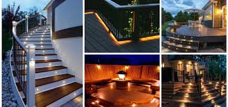deck lighting. Deck Lighting Systems Bring The Illumination You Want To Your Certain Part Home Exterior Spaces. They Are Also Able Create Such Beauty Open-air