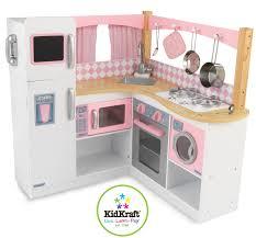 Kidkraft moderne Bauernküche Spielküche aus Holz für Kinder