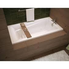 60 x 32 bathtub exhibit x acrylic soaking bathtub with integrated tiling maaxr finesse 60 60 x 32 bathtub