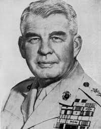 MAJOR GENERAL HARRY SCHMIDT, who had led the 4th Marine Division at Saipan, commanded the troops ... - USMC-M-Tinian-p19
