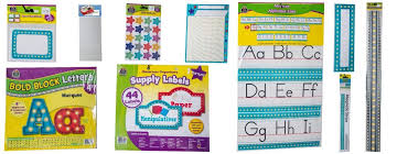Cheap Chart Paper For Teachers Buy Marquee Alphabet Classroom Bulletin Board Set Name Tags